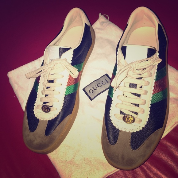 Gucci Shoes | Gucci Mens Leather Suede
